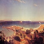 Albert Bierstadt (1830-1902)  The Bombardment of Fort Sumter  Oil on canvas, c.1863   League of Philadelphia, Philadelphia