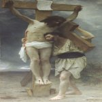William Bouguereau (1825-1905)  Compassion!  Oil on canvas, 1897  Private collection