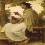William Bouguereau (1825-1905)  Bacchante  Oil on canvas, 1894  Private collection