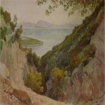 Brulloff Karl (1799 - 1852)	  Type Akarnani  the source Aretuzy  Watercolor on paper, 1835  The State Museum of Fine Arts A.S. Pushkin, Moscow, Russia
