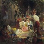 Brulloff Karl (1799 - 1852)  Fountain in Bakhchi-Sarai  Oil on canvas, 1849  The Pushkin Museum in Moscow, Russia