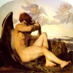 Alexandre Cabanel (1823-1889)  Fallen Angel  Oil on canvas  Private collection