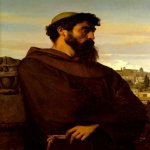 Alexandre Cabanel (1823-1889)  The Roman Monk  Oil on canvas  Private collection