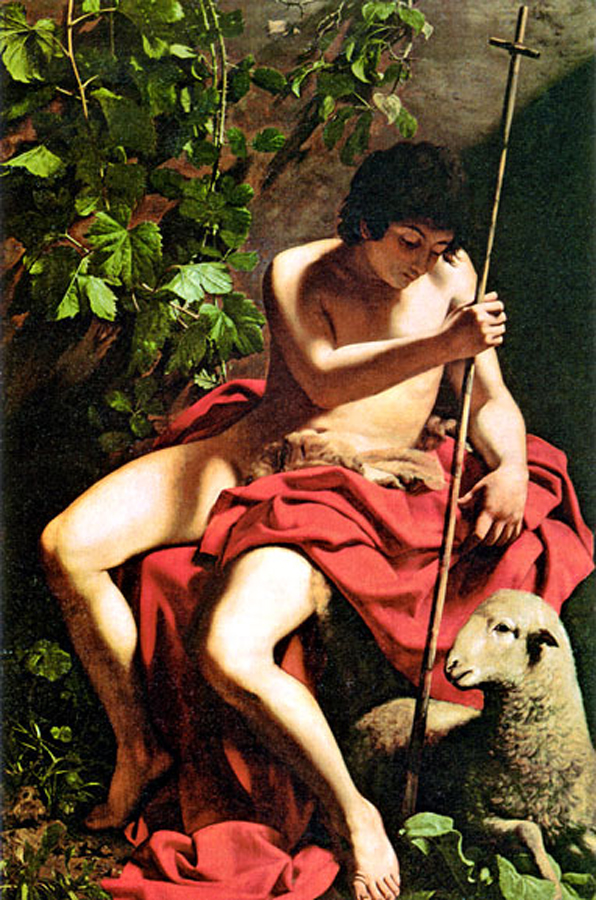 St john the baptist caravaggio would