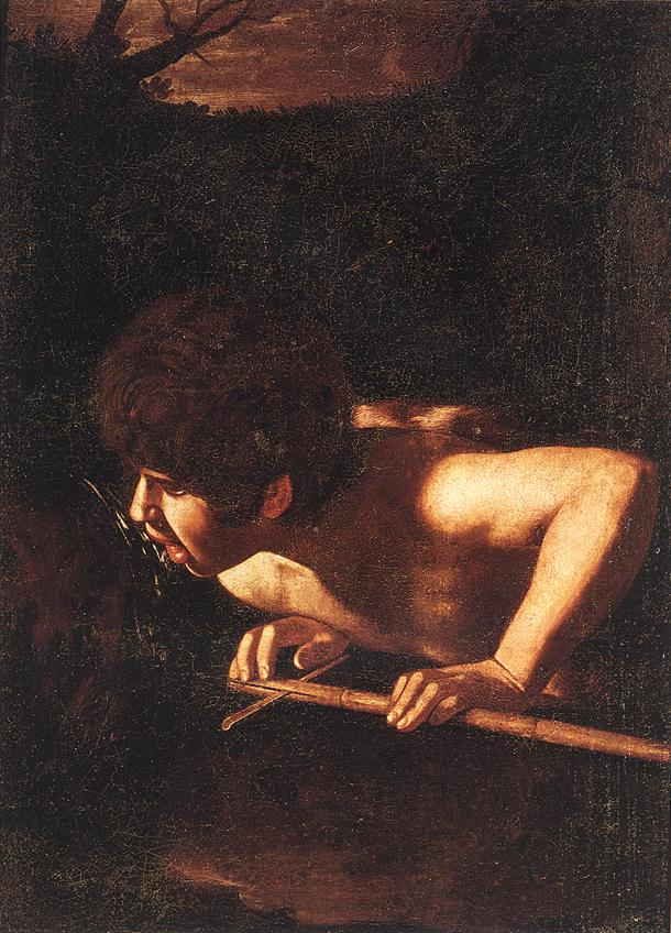 John the baptist by caravaggio can