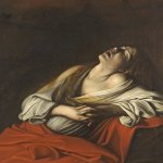 Michelangelo Merisi da Caravaggio, (1571  1610)  Mary Magdalen in Ecstasy  Oil on canvas, 1606  Private collection, Rome, Italy