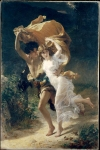 "Pierre-Auguste Cot (Pierre Auguste Cot) (1837-1883) The Storm Oil on canvas, 1880 156.8 x 234.3 cm (5\' 1.73"" x 7\' 8.24\"") Metropolitan Museum of Art (Manhattan, New York, United States)"