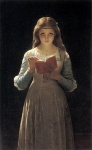"Pierre-Auguste Cot (Pierre Auguste Cot) (1837-1883) Pause for Thought Oil on canvas 78.1 x 125.7 cm (30¾"" x 4\' 1.49\"") Private collection"
