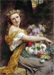 Pierre-Auguste Cot (Pierre Auguste Cot) (1837-1883) Dionysia Oil on canvas,  170 x 217 Private collection