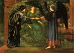 Edward Burne-Jones (Edward Burne Jones) (1833-1898)  The Heart of the Rose  Oil on canvas  1889  131 x 96.5 cm  (4' 3.57