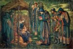Edward Burne-Jones (Edward Burne Jones) (1833-1898)  The Star of Bethlehem  watercolour, c.1885-1890  260 cm × 390 cm (101 in × 152 in)  Birmingham Museum & Art Gallery, Birmingham, United Kingdom
