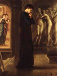 Edward Burne-Jones (Edward Burne Jones) (1833-1898)  Pygmalion I , The Heart Desires,  (I of IV), First Series  Oil on canvas, 1868-70  Joseph Setton Collection (private), Paris - now owned by Lord Lloyd Webe