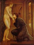 Edward Burne-Jones (Edward Burne Jones) (1833-1898)  Pygmalion III , The Soul Attains,  (III of IV), First Series  Oil on canvas, 1868-70  Joseph Setton Collection (private), Paris - now owned by Lord Lloyd Weber