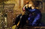 Edward Burne-Jones (Edward Burne Jones) (1833-1898)  Love Among the Ruins  Oil on canvas, 1894  160 x 96.5 cm (5' 2.99