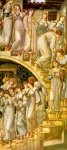 Edward Burne-Jones (Edward Burne Jones) (1833-1898)  The Golden Stairs  Oil on canvas, 1876-1880  117 x 269 cm (3' 10.06