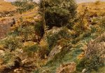 George Price Boyce (1826-1897)  Autumn in the Welsh Hills  Watercolour over pencil. Signed with monogram, 1871-1872  26.7 x 38.7 cm (10 1/2 x 15 1/4 in)  Private collection