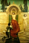 John Collier (1850-1934) In the Venusberg Tannhauser Oil on canvas Private collection