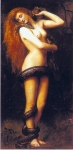 John Collier (1850-1934) Lilith Oil on canvas 46 x 86 cm (18.11