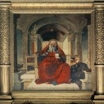 Lorenzo Costa (1459-1535)  St Jerome  Panel, 1485  Private collection