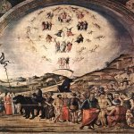 Lorenzo Costa (1459-1535)  The Triumph of Death  Fresco, 1490  Private collection