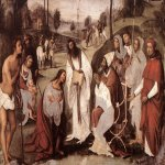 Lorenzo Costa (1459-1535)  Conversion of St Valerian  Oil on canvas, 1505-1506  Private collection