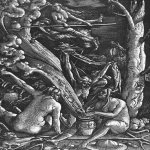 Hans Baldung (1484-1545)  Witches Sabbath   Woodcut, 1510  Germanisches Nationalmuseum, Nuremberg