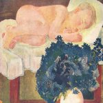 Alexander Alexandrovich Deyneka (1899-1969)  The Sleeping boy and cornflowers, 1932