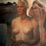 Alexander Alexandrovich Deyneka (1899-1969)  The swimming girls, 1933  The State Tretyakov Gallery, Moscow, Russia