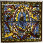 Duccio di Buoninsegna (c. 1255-1260 – c. 1318-1319)  Assumption of the Virgin  Painted window, about 1287-1288  Cathedral, Siena, Italy