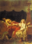 Jacques-Louis David (1748  1825) Andromache Mourning Hector  Oil on canvas