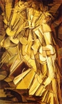 Marcel Duchamp Nude Descending a Staircase, No. 2 Oil on canvas, 1912 147 cm × 89.2 cm (57 7⁄8 in × 35 1⁄8 in) Philadelphia Museum of Art, Philadelphia