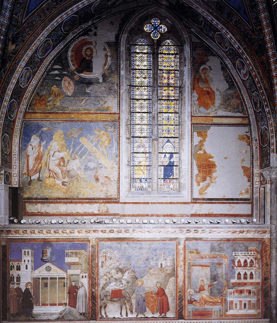 Giotto di Bondone  c  1267     January 8  1337  Frescoes in the fourth    Giotto Di Bondone Frescoes