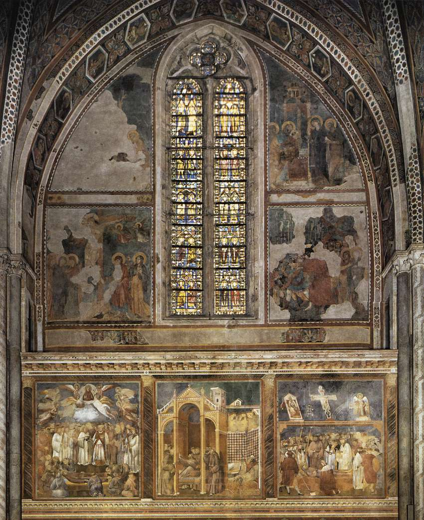 Giotto di Bondone  c  1267     January 8  1337  Frescoes in the second    Giotto Di Bondone Frescoes