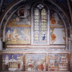 Giotto di Bondone (c. 1267 – January 8, 1337)  Frescoes in the fourth bay of the nave  Fresco, 1290s  Upper Church, San Francesco, Assisi, Italy