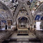 Giotto di Bondone (c. 1267 – January 8, 1337)  Panoramic view of the frescoes  Fresco, 1320-40  Lower Church, San Francesco, Assisi, Italy