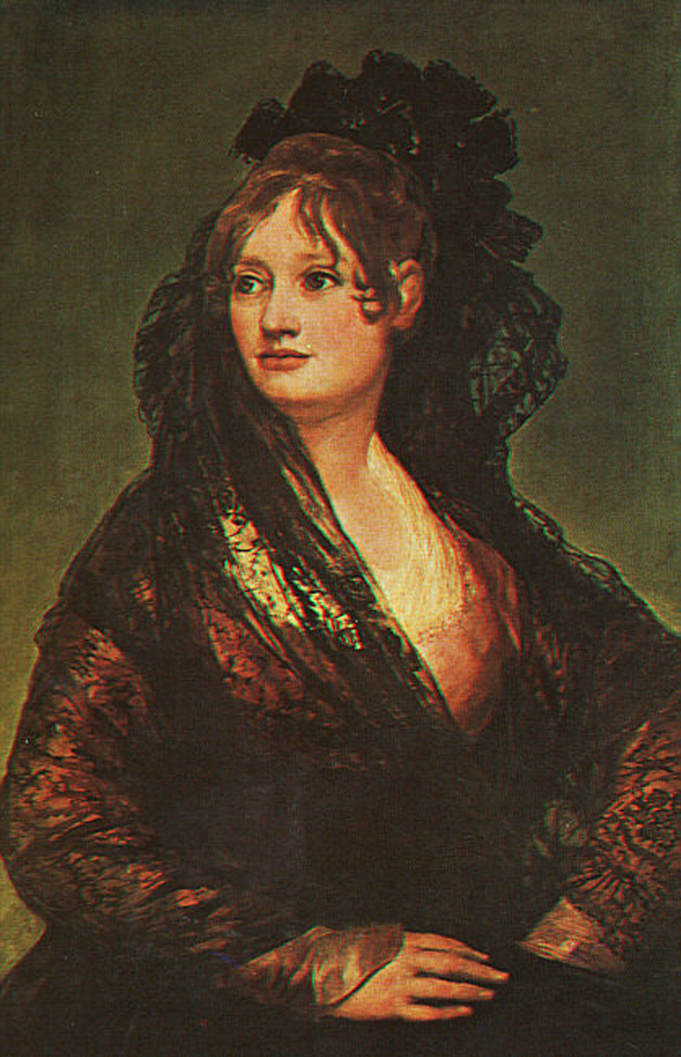 Francisco de Goya (1746-1828)  Doña Isabel Cobos de Porcel  Oil on canvas, 1806  National Gallery, London, England