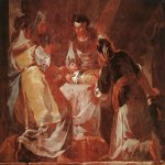 Francisco de Goya (1746-1828)  Birth of the Virgin  Fresco, 1771-1773  Charterhouse of the Aula Dei, Saragossa, Spain