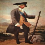 Francisco de Goya (1746-1828)  Charles III  Oil on canvas, 1786-1788  Museo del Prado, Madrid, Spain