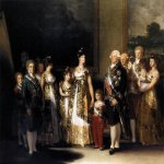 Francisco de Goya (1746-1828)  Charles IV and his Family  Oil on canvas, 1800  110 1/8 x 132 1/4 inches (280 x 336 cm)  Museo del Prado, Madrid
