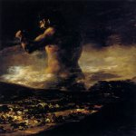 Francisco de Goya (1746-1828)  The Colossus  Oil on canvas, 1808-1812  Private collection