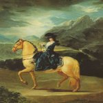 Francisco de Goya (1746-1828)  Maria Teresa of Vallabriga on Horseback  Oil on canvas, 1783  Galleria degli Uffizi, Florence, Italy