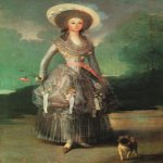 Francisco de Goya (1746-1828)  Marquesa de Pontejos  Oil on canvas, c.1786  National Gallery of Art, Washington, DC, USA