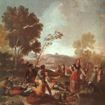 Francisco de Goya (1746-1828)  Picnic on the Banks of the Manzanares  Oil on canvas, 1776  Museo del Prado, Madrid, Spain