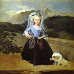 Francisco de Goya (1746-1828)  Portait of Maria Teresa de Borb�n y Vallabriga  Oil on canvas, 1783  National Gallery of Art, Washington, DC, USA