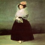 Francisco de Goya (1746-1828)  The Countess of El Carpio  Oil on canvas, c.1792  Musée du Louvre, Paris, France