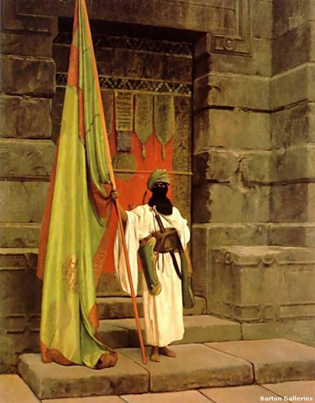 Exceptionnel The Standard Bearer - Gerome, Jean-Leon - Gallery - Web gallery of art NW96