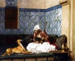 Jean-Leon Gerome (Jean Leon Gerome) (1824-1904) Une Plaisanterie Oil on canvas, 1882 73.4 x 59.7 cm (28.9