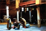 Jean-Leon Gerome (Jean Leon Gerome) (1824-1904) Prayer in the Mosque Oil on canvas 92.7 x 65.5 cm (3' x 25.79