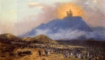 Jean-Leon Gerome (Jean Leon Gerome) (1824-1904) Moses on Mount Sinai Oil on canvas, 1895-1900 Private collection