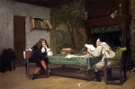 Jean-Leon Gerome (Jean Leon Gerome) (1824-1904) A Collaboration ­ Corneille and Molière Oil on canvas, 1873 51 x 76 cm (20.08